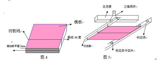 扣板木龙骨结构图
